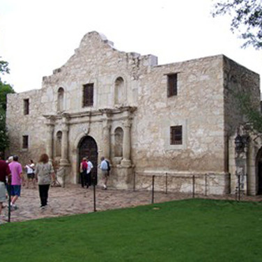 Now to tour The Alamo