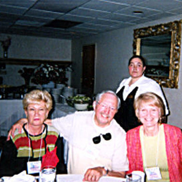 Bev and Donald Hunnicott with Judy Alcorn