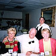 Bev and Donald Hunnicott with Judy Alcorn