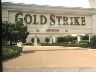 Next stop was the Gold Strike casino in Tunica Ms.