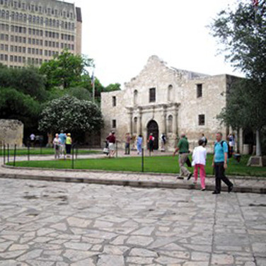 Another view of the Alamo