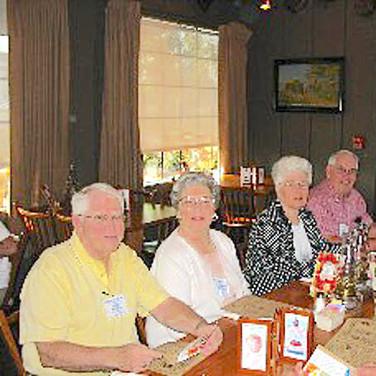 """Jack and Barbara McCall, Jeanetta and Bob """"Stu"""" Stewart"""