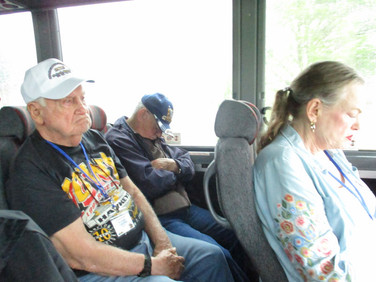 Then it was back on the bus to our next stop