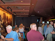 We had our private party on the second floor of the Wildhorse