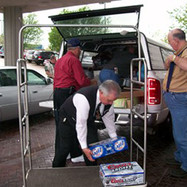 Fred Schulte, Time to restock the Hospitality Suite