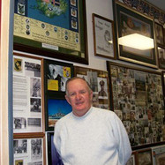 Ed Morris and our Reunion Art at the Raddison