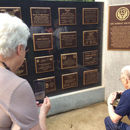 """The Rededicated plaque honoring those that served on the """"far Flung Frontiers of Freedom"""""""