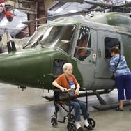 A Pime AFB Museum chopper