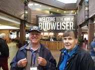 After breakfast it was off to tour the home of Budweiser
