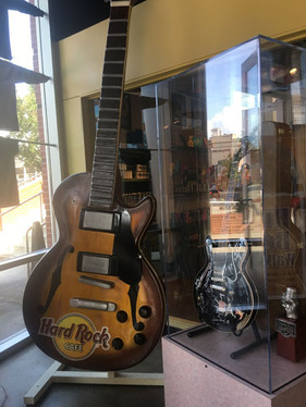 Guitars are BIG in this town