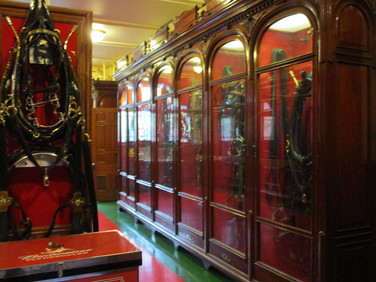 Some of the Clydesdales famous horse tack