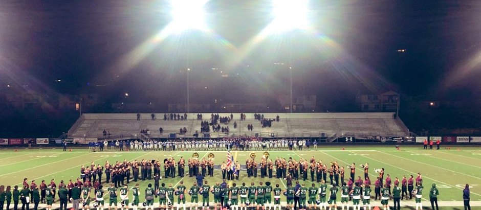 Mustangs High Step To The Victory