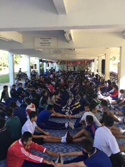 English speaking camp