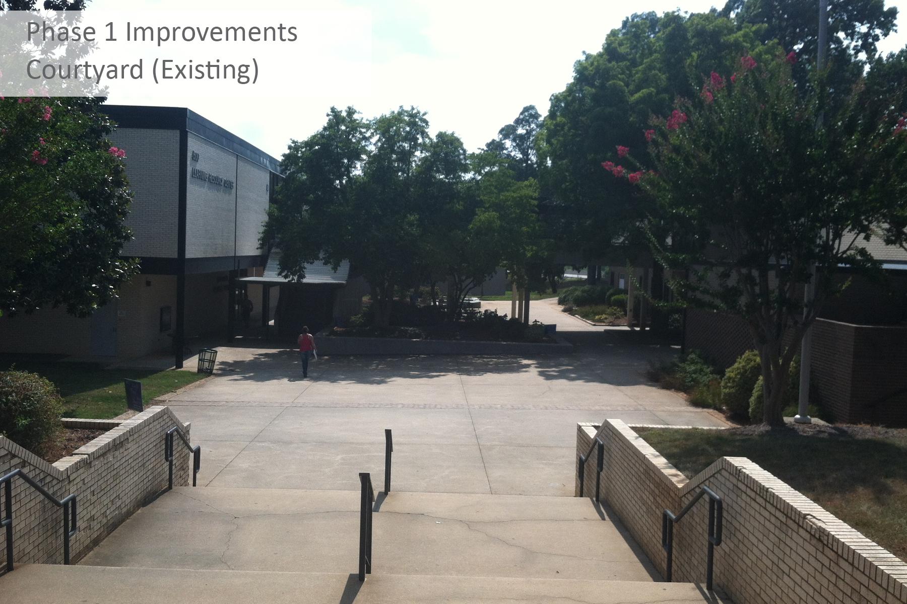 Courtyard BEFORE PHOTO - TXT