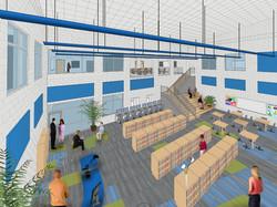 Media Center Rendering 2
