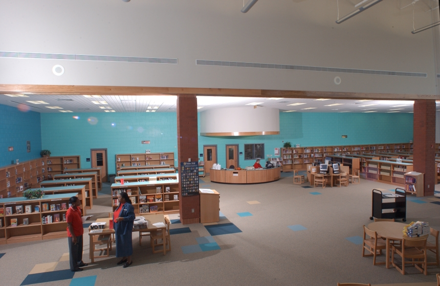 Media Center - looking down