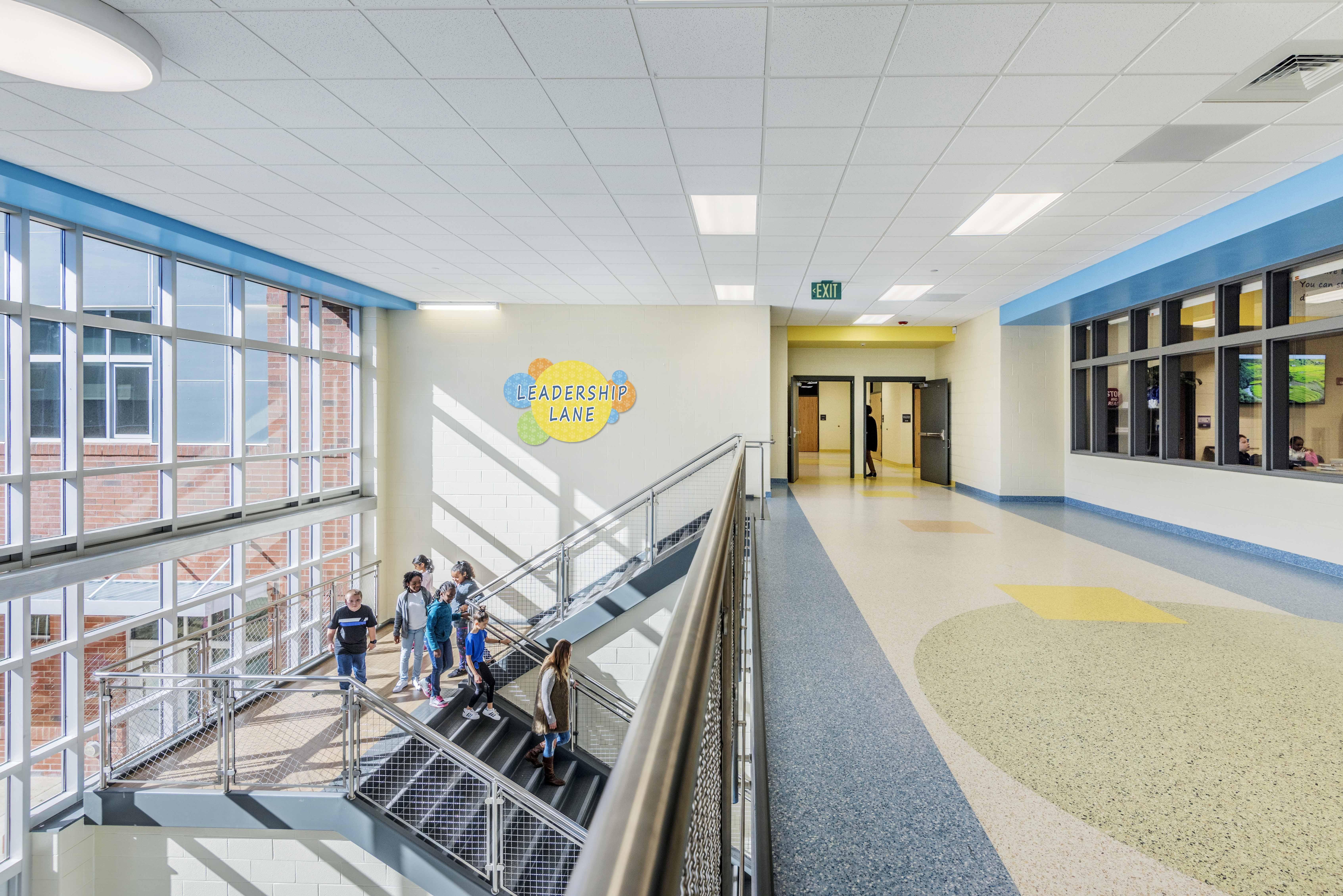 Pleasant Ridge ES Hallway