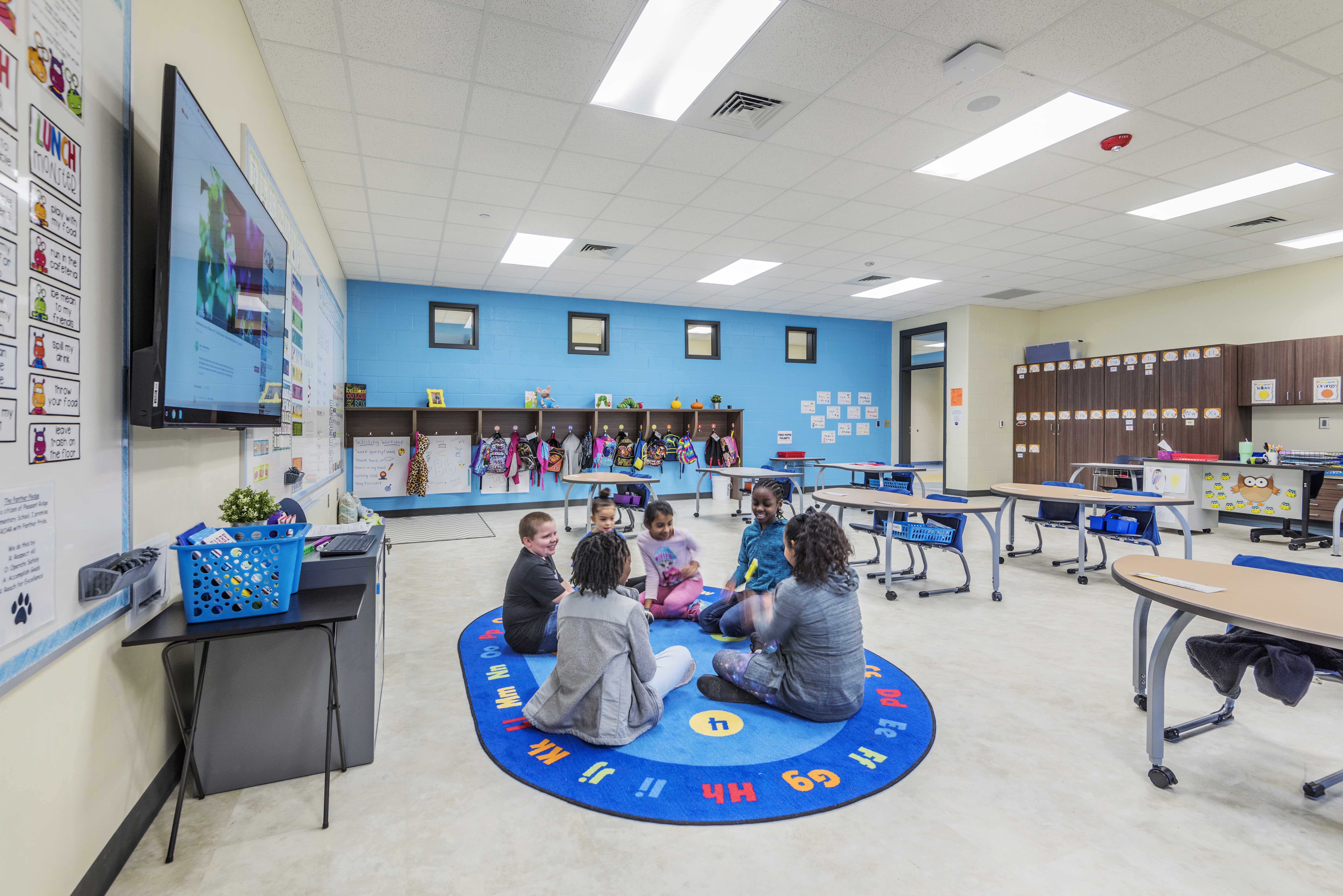 Pleasant Ridge ES Classroom