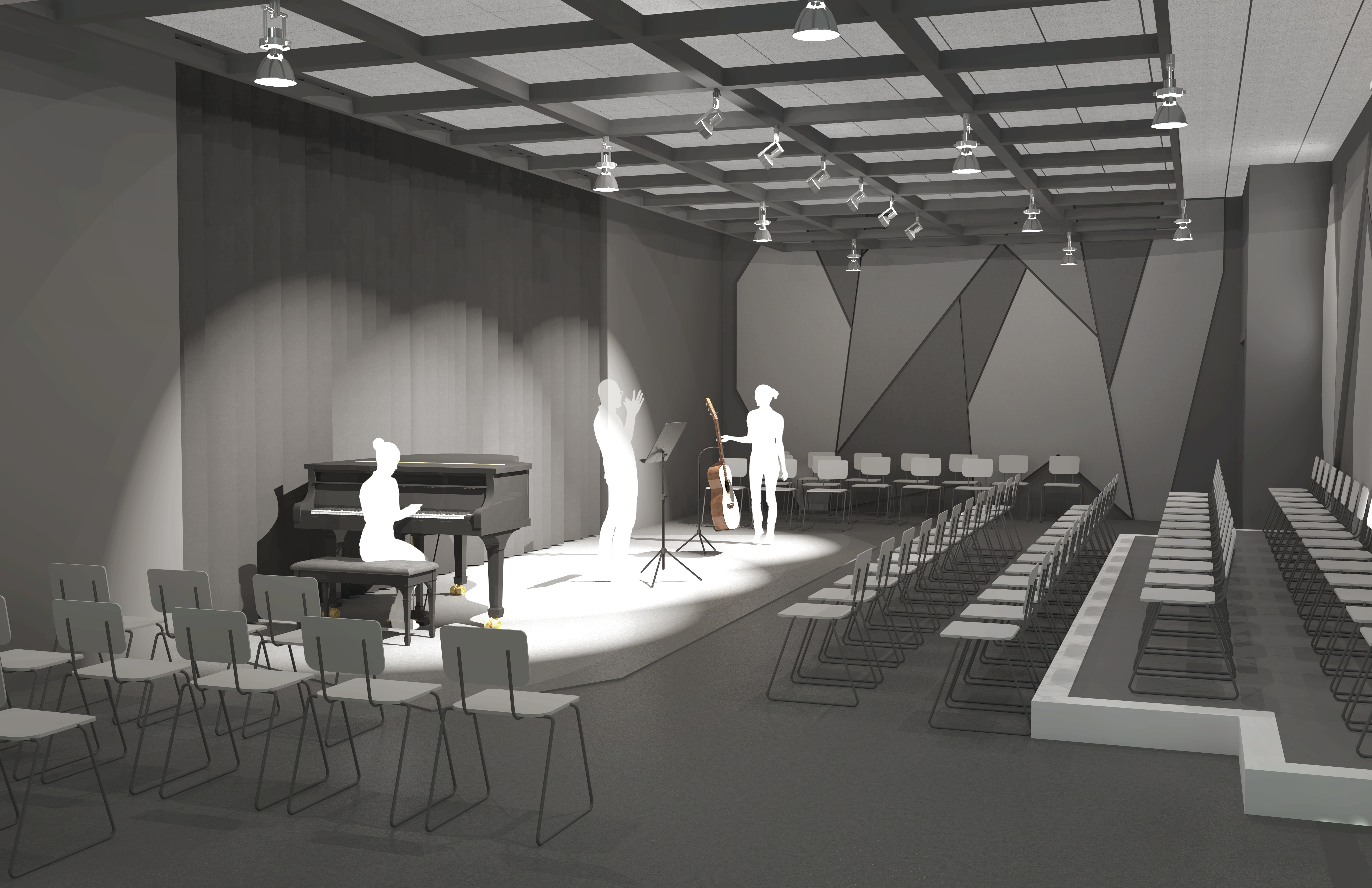 Owens Auditorium - Black Box