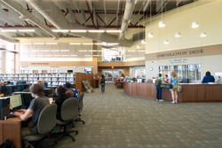 Learning Resource Ctr Circulation Desk