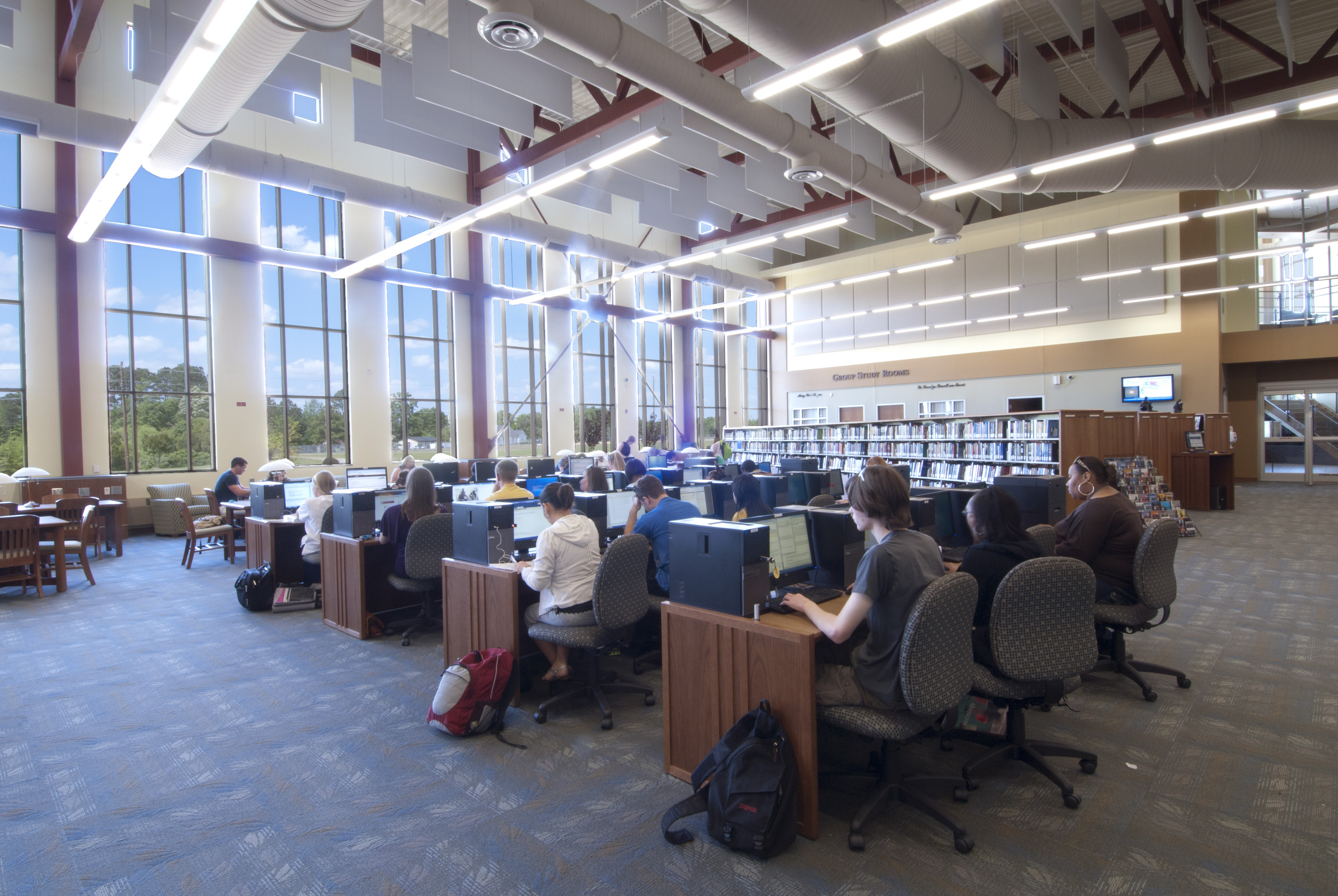 Learning Resource Ctr Computers