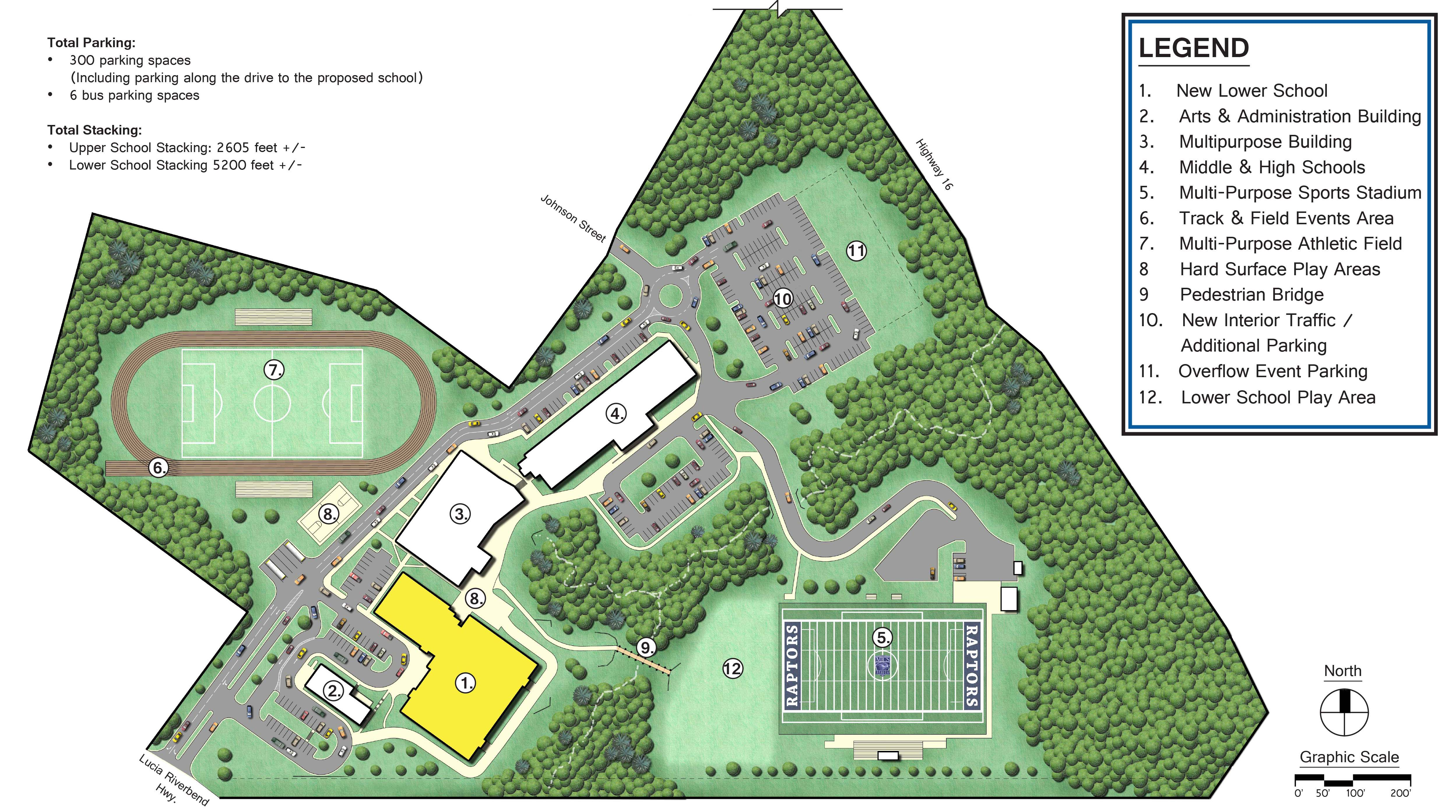 Campus Master Plan Closeup