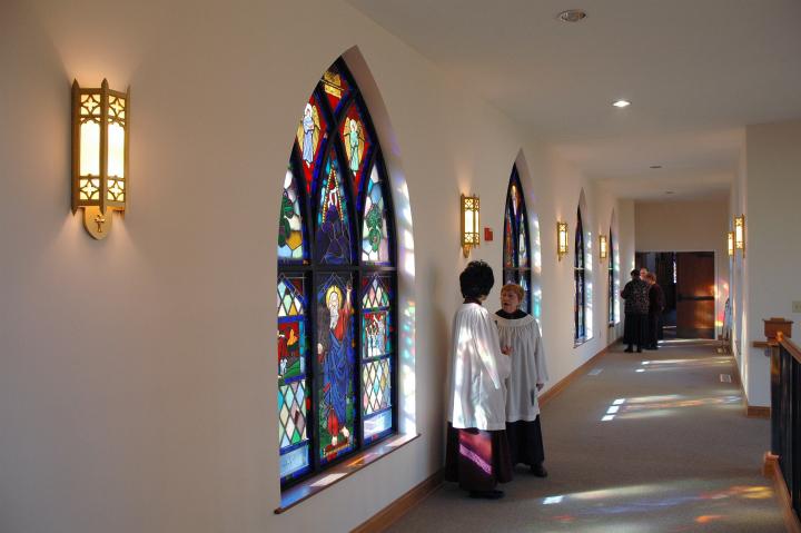 Church of the Redeemer Hallway