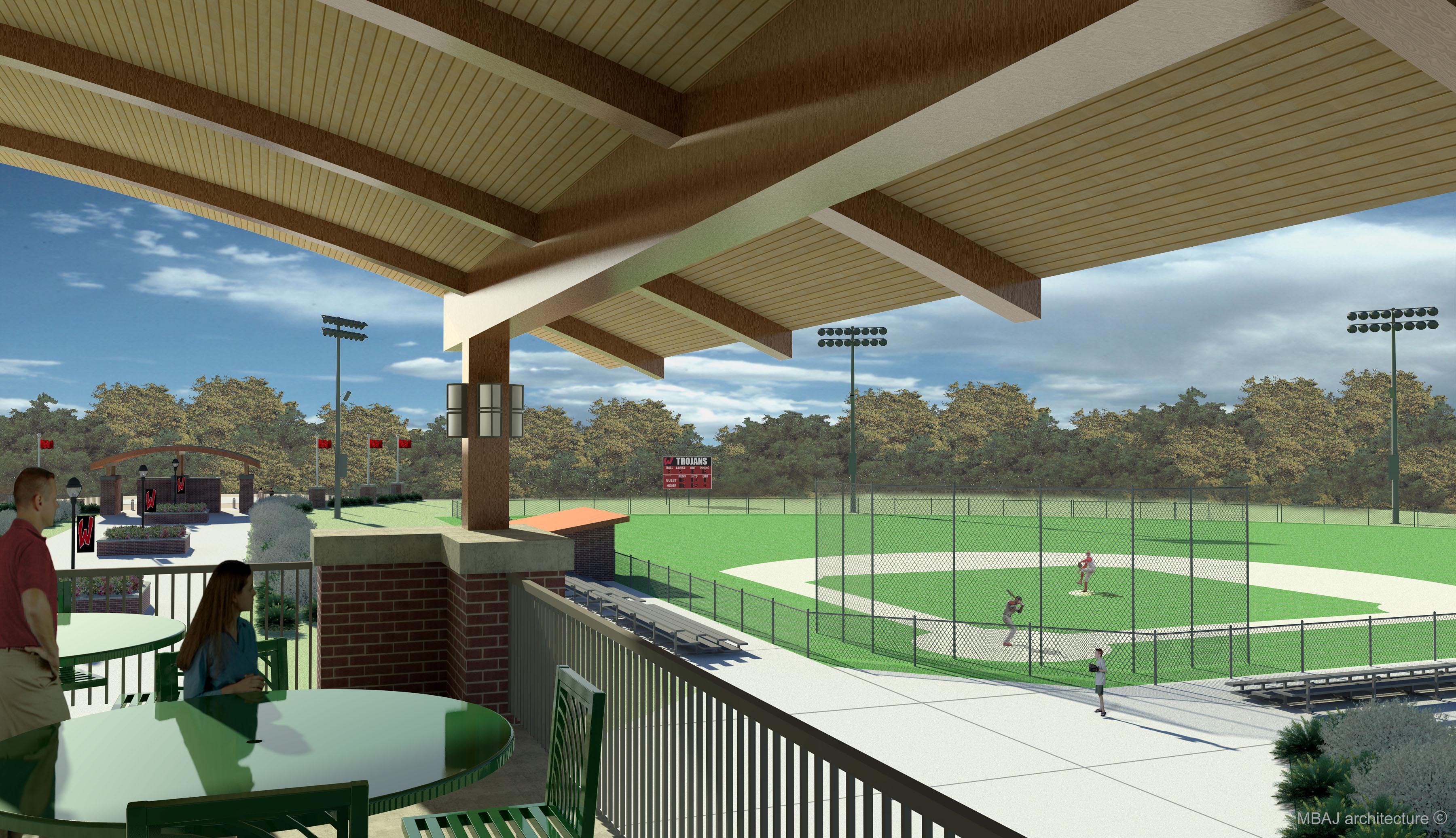 View to Baseball Field