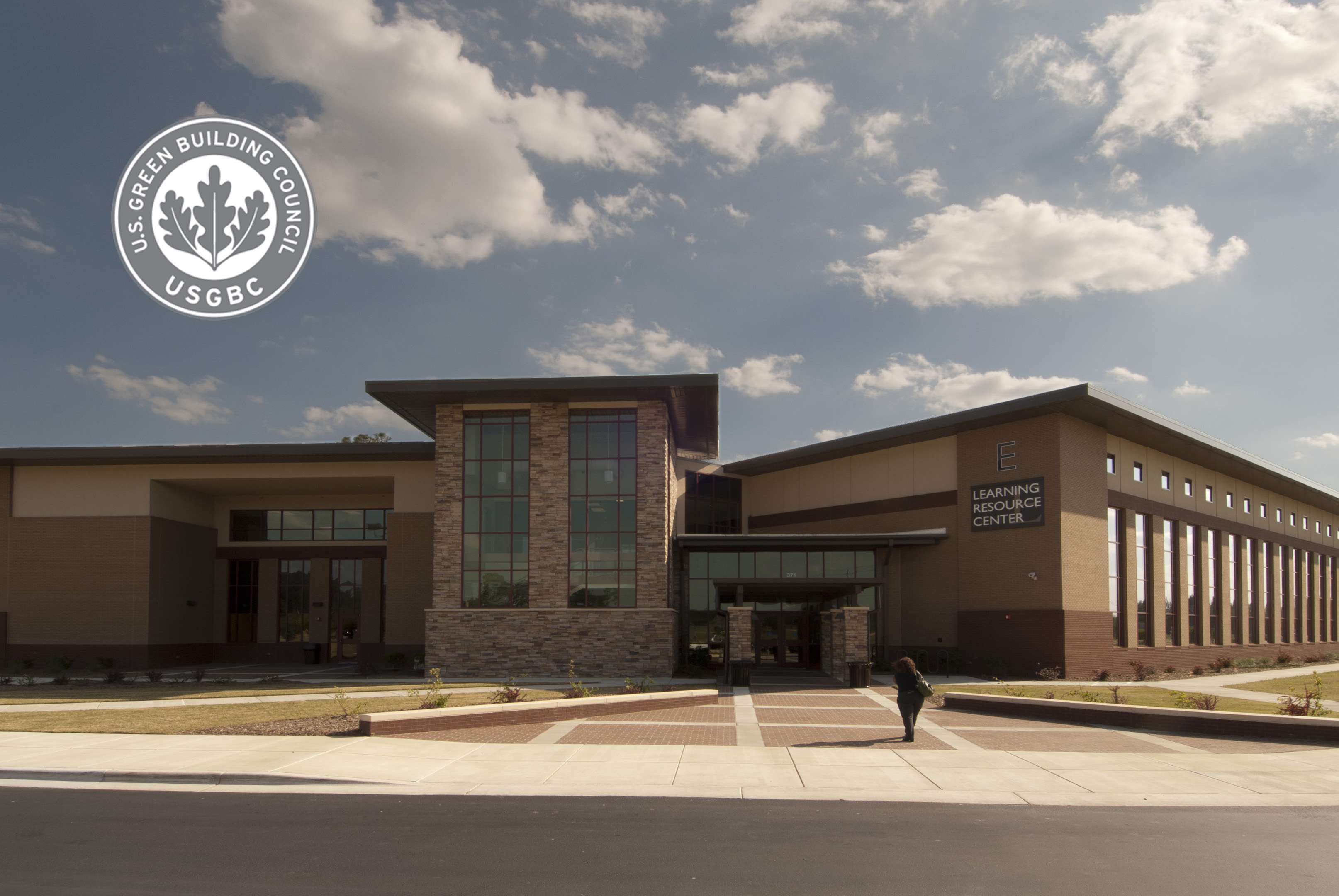Learning Resource Ctr Exterior - LEED
