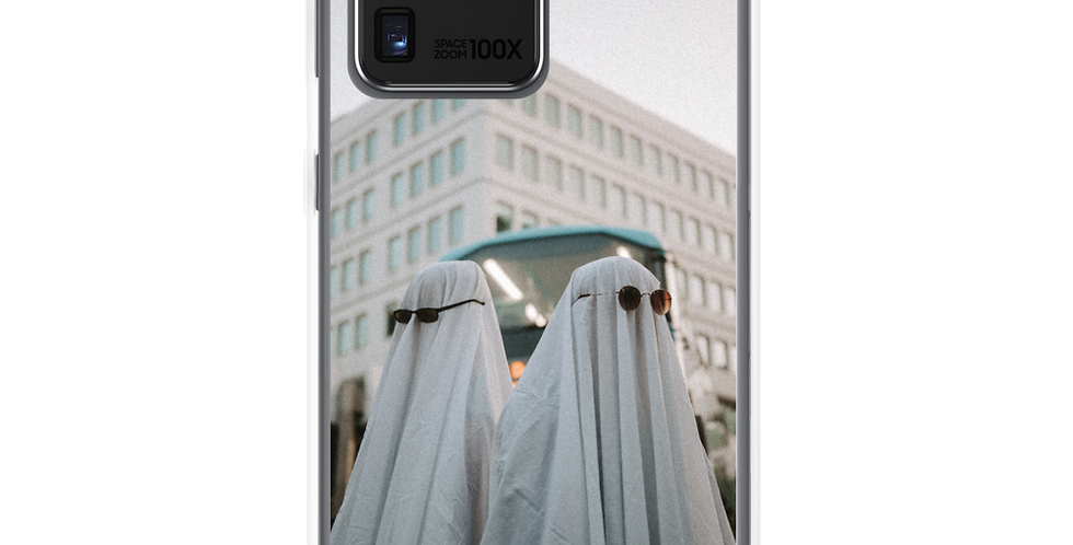 'Spooky but Boujee' Clear Samsung Case
