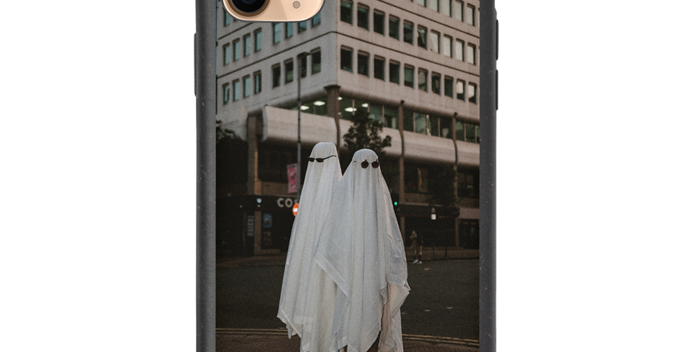 'Ghosts in Paradise' Biodegradable iPhone Case