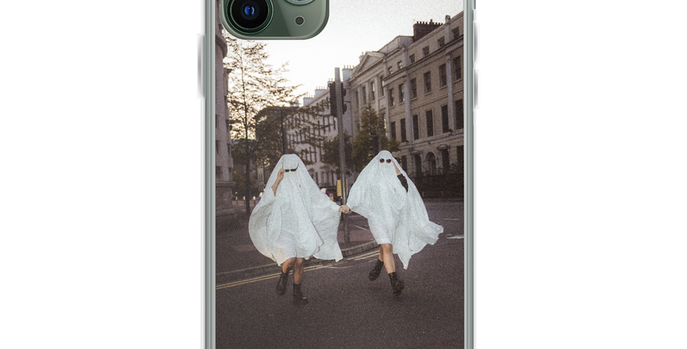 'No Paparazzi' Clear iPhone Case