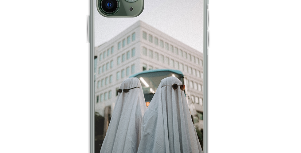 'Spooky but Boujee' Clear iPhone Case