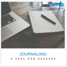 Journaling: A tool for Healing