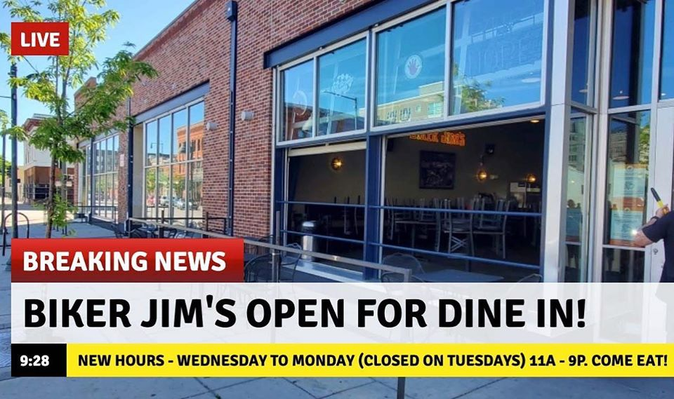 Jim's is back!