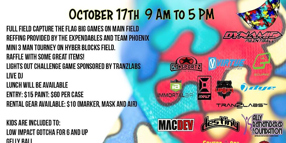 16th Annual Autism Charity Event & Mini 3 Man tournament