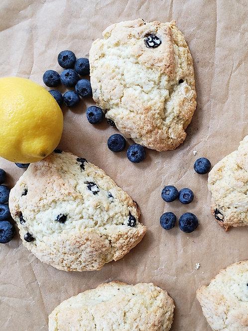 Lemon Blueberry Scones Baking Mix