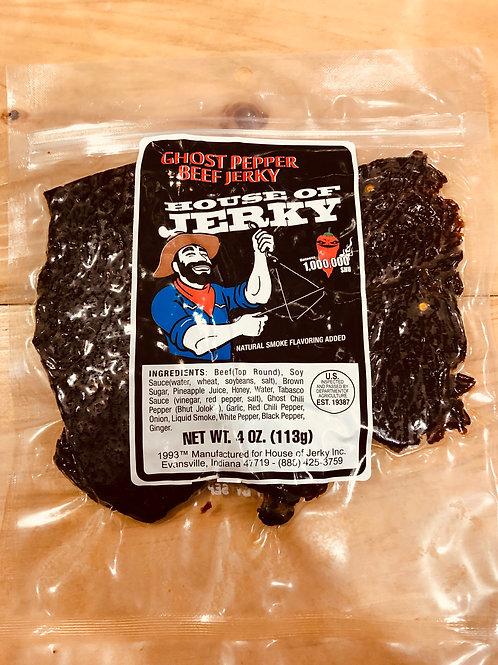 Ghost Pepper Beef Jerky