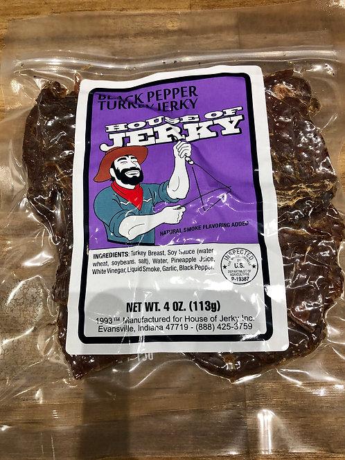 Black Pepper Turkey Jerky