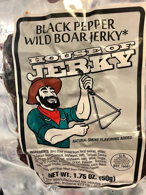 Black Pepper Wild Boar Jerky
