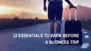 12 Essentials to Pack Before a Business Trip