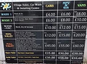 Car Garage in Albrighton Car Wash carwash prices 2016