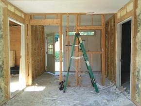 WEEK THIRTEEN: Work Space Reno, New Hardware & Shower Progress