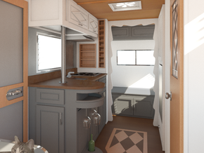 WEEK TWENTY-SIX: Interior Renders, Cabinetry & Hardware
