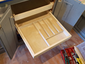 WEEK FIFTY-TWO & FIFTY-THREE: AC, Cabinetry & Trim