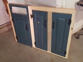 WEEK TWELVE: Interior Cabinetry Begins, Shower Pan Pitting & Work Flow