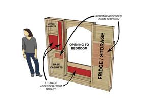 WEEK FOURTEEN: Bedroom Wall Framing, Camper Storage & New Router