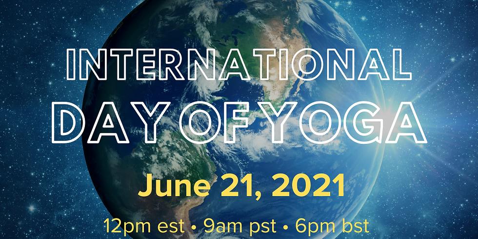 Int'l Day of Yoga: Livestream
