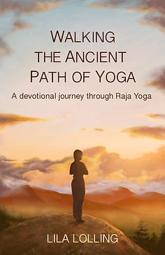 Walking the ancient path of yoga by Lila Lolling, cover of the book