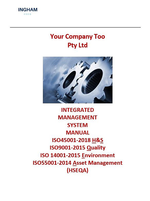 IMS Manual (HSEQA)